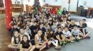 Visita dos alunos do colégio Marista São Luis de Santa Cruz do Sul ao C.C. 25 de Julho.
