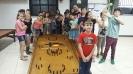 Visita dos alunos do colégio Municipal Guido Herberts  ao C.C. 25 de Julho.